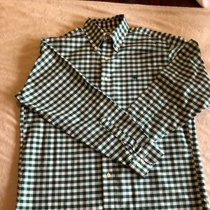 Brooks Brothers gingham Oxford cloth shirt